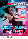 CZECH AND SLOVAK MAY PARTY 2015