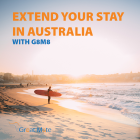Extend your stay in Australia with G8M8